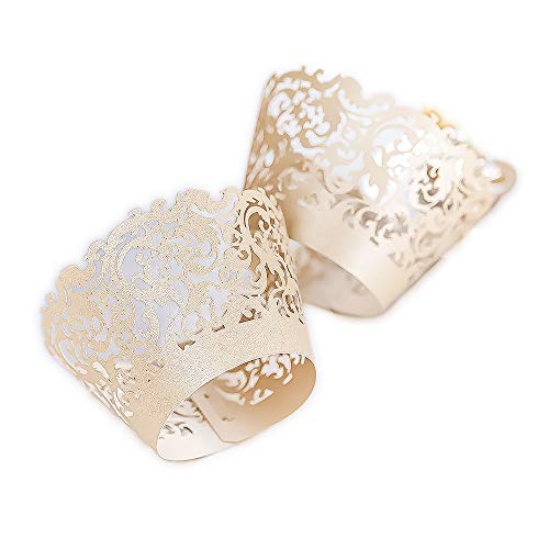YOZATIA Cupcake Wrapper Weddings Birthdays product image