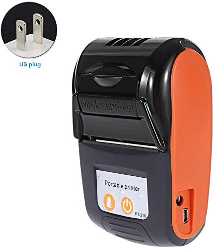 Ganquer 58mm Portátil Factura Máquina Térmico Impresora ...