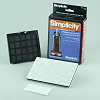Simplicity Genuine Electrostatic & Charcoal Filter Set for Synchrony Upright Model SCRD