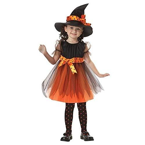 QENCI Enfants Halloween Costume Enfants Sorcière Cape Cape