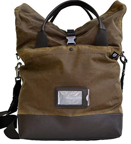 Jack Spade Men's Waxwear Canvas Unknown Cargo Tote Laptop Bag ()