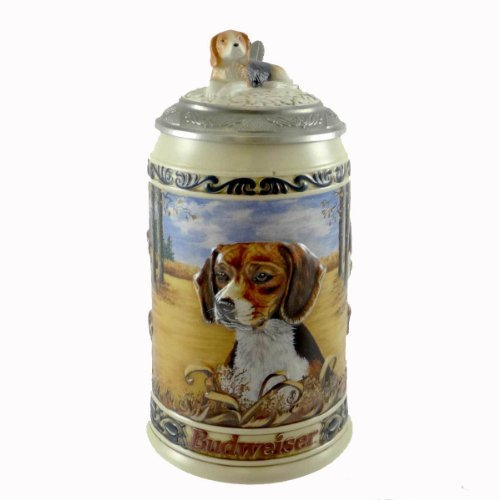 beagle-collectible-stein-from-anheuser-busch-the-fourth-editionhunters-companion-series