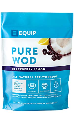 (Pre Workout for Men or Women: Best as Preworkout Supplement Powder. BCAA Amino Acids, Green Tea for Explosive Energy Work Out w Creatine, Caffeine, Coconut Water to Burn Fat. BlackBerry Lemon)