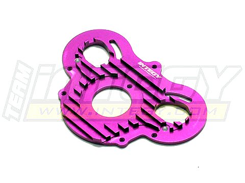- Integy RC Model Hop-ups T6960PURPLE Alloy Motor Plate for HPI E-Savage
