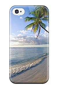 Shock-dirt Proof Sunshine At The Beach Case Cover For Iphone 4/4s