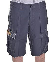 Polo Ralph Lauren Denim & Supply Men's Charcoal Grey Ripstop Cargo Shorts Size 30