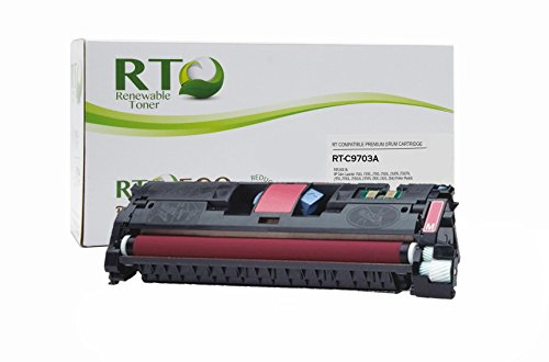 2500 Series Printer Color (Renewable Toner 121A Compatible Toner Cartridge Replacement HP C9703A for HP Color LaserJet 1500, 2500, 2550, 2800, 2820, 2840 Series (Magenta))