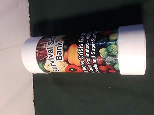 Shoppy Star Semillas DE GERMINACION: Banco de Semillas de Supervivencia Kit DE Jardin DE Crisis Sellado DE PVC