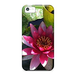 New Arrival Water Lily Pond For Iphone 5c Case Cover