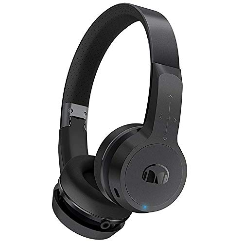 Monster Clarity HD Designer Series: Black On-Ear Bluetooth Wireless Headphones