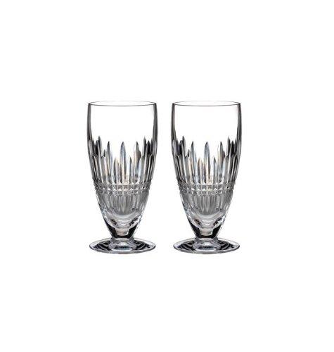 - Waterford Lismore Diamond Iced Beverage Pair