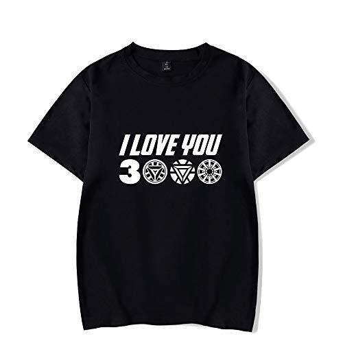Juego Avengers End Game, Camisa de Iron Man, papa I Love You 3000 Camiseta de Stark Avengers para Hombres, Mujeres y jovenes