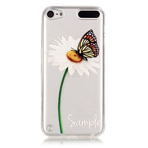 Price comparison product image Wwwe® Ipod Touch 5 Case,  Touch 6 case,  Sunflower Soft Back Cover for Ipod Touch 5 / 6