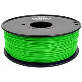 Gizmo Dorks 1.75mm HIPS Filament 1kg / 2.2lb for 3D Printers, Green