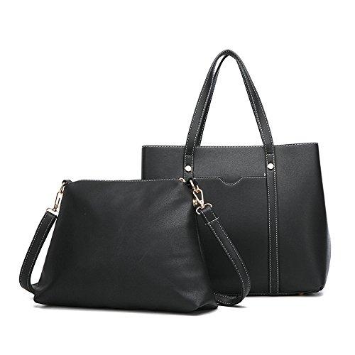 Mode Pièces Mode Rose La Sac Main Unique Dames Deux Épaule À Black Bag GWQGZ Mode À Skew Spanning 48wdqCq