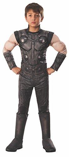 Rubie's Marvel Avengers: Infinity War Child's Deluxe Thor Costume, Small