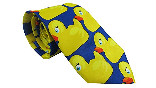 DUCKY TIE HIMYM Marshall Barney duck duckie necktie - First Class Shipping Long Is How