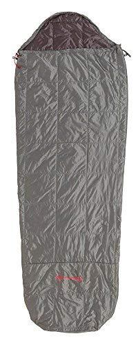 Big Agnes Farrington Lightweight Synthetic Sleeping Bag, Gray/Shale, Regular Length/Left Zipper [並行輸入品] B07R4VZF6J