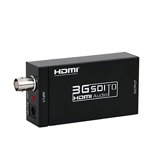 Hd 1080P Sdi Hd Sdi 3G Sdi A Convertidor Video Del Adaptador Conversor De Hdmi Con El Audio Incorporado