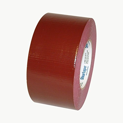 (Shurtape PC-618 Industrial Grade Duct Tape: 3 in. x 60 yds. (Burgundy) )