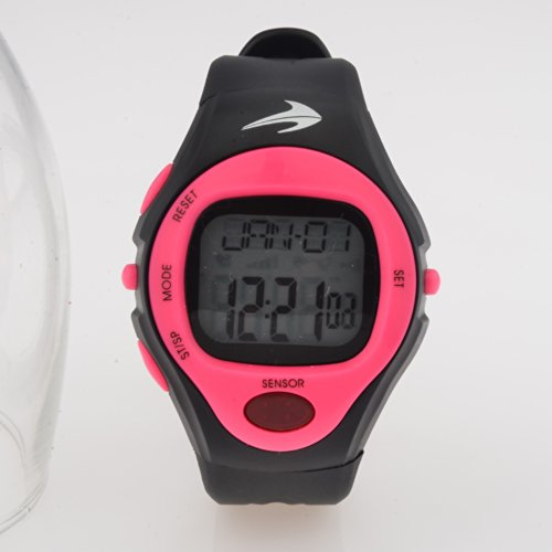 Heart Rate Monitor Watch (Pink) Best for Men & Women - Running, Jogging, Walking, Gym Exercise, Iron Man, Cycling, Sports - Digital Timer Stop Watch, Alarm Multi Function