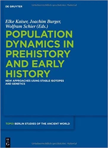 Population Dynamics in Prehistory & Early History. (Walter