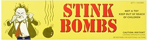Rhode Island Novelty Stink Bombs   3 Glass Vials Per Box   12 Boxes Per Order - Long Island 15' Counter