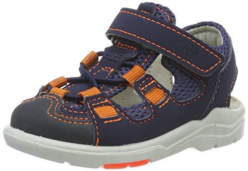 Ricosta Boys' Georgie Closed Toe Sandals, Blue (Nautic/See 172), 6 UK ()