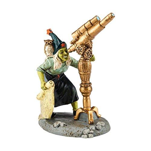 Department 56 Halloween Village Witch Watch with Telescope Figurine 4051018 New ()