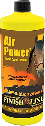 FINISH LINE Air Power Equine Cough Formula 34 Ounce ()