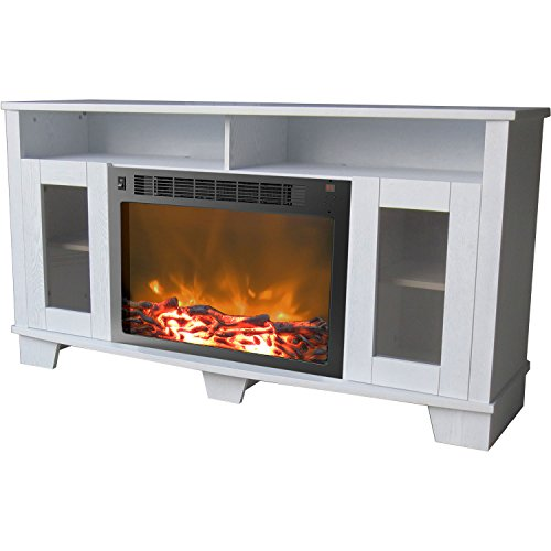 Cambridge Savona Fireplace Mantel with Electronic Fireplace Insert,
