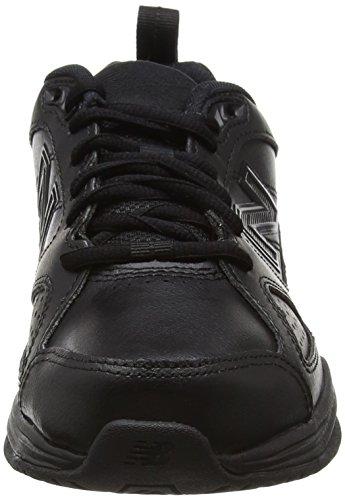 New Balance WX624AB4, Zapatillas Deportivas Para Interior Mujer, Negro (Black), 36 EU