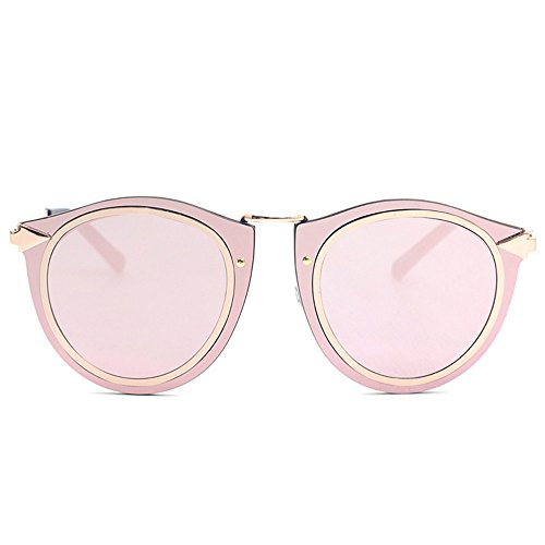 pink vintage Voyages des Hommes doré Lunettes Femmes pour Designer Bord vacances route Sunglass de pour soleil DESESHENME Lens OBqawYa
