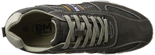 BM Footwear Men's 2716201 Trainers Grey (Coal) 3qMBPZsJbR