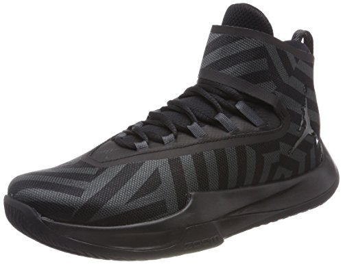 Nike Herren Jordan Fly Illimitato Basketballschuhe Grau (anthraciteblackblackblack 012)