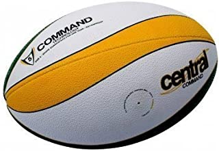 New Central Command Quality Grip Tous Temps Entraînement Rugby Balle Taille 4 & 5