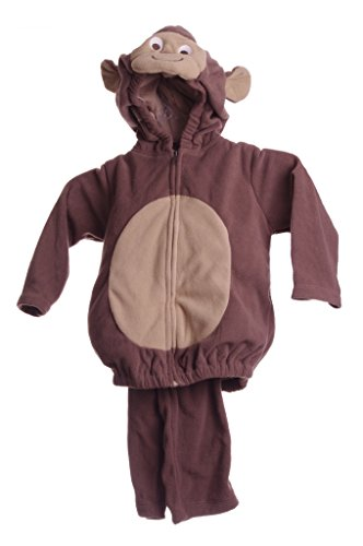 Carter's Halloween Costume Monkey Size 18 Mos 2 Pieces Long Sleeve Top ()