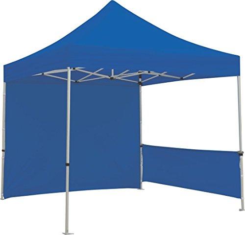 Exhibitor's Handbook TNT-3MX3M-HLF-K-BLU Zoom Popup Tent Half Wall Kit Hardware Only, 10', Blue by Exhibitor's Handbook
