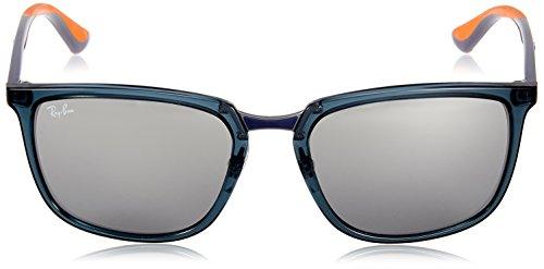 RB4303 sol de DARK BLUE TRASPARENT Ban Ray 636488 Gafas Z8n05Ow