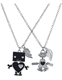Girl's Best Friends forever BFF Necklace Set