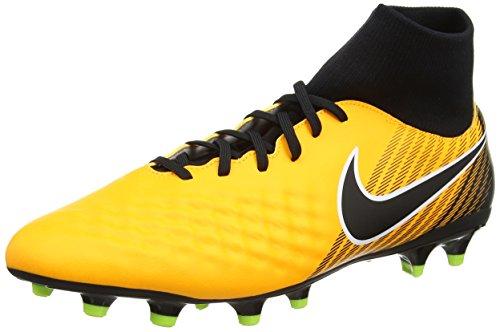 Nike Mens Magista Onda Ii Df Fg Fotboll Cleat Laser Orange / Vit / Volt / Svart