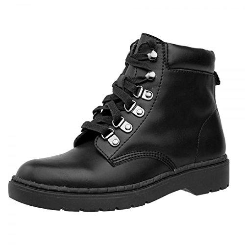 Black Boots Shoes k u Leather T Women's Hiker Ealing URqIca