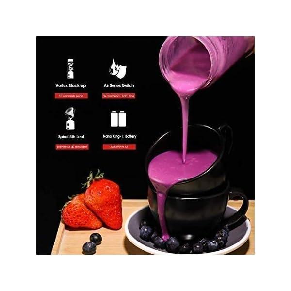 XYUN Juicer della frutta, Wide Mouth centrifuga Juicer Estrattore con Dual Speed Control for Frutta e verdura Juice… 4 spesavip