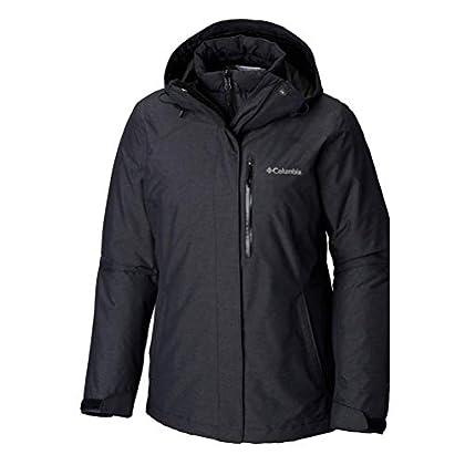 Columbia Whirlibird Iii Plus Size Interchange Jacket, 3X, Black Crossdye