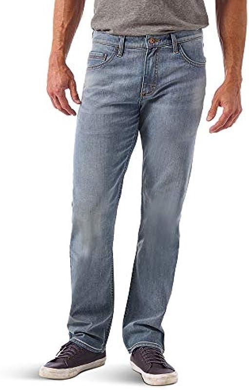 Wrangler Authentics męskie dżinsy Slim Straight: Odzież