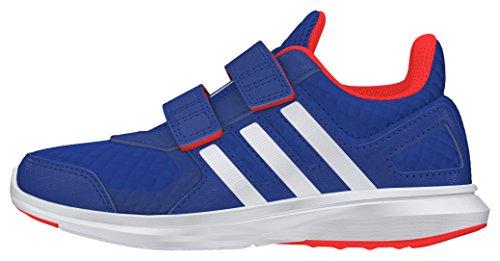 adidas Hyperfast 2.0 CF K, Zapatillas de Deporte Para Niños Azul (Reauni / Ftwbla / Rojsol)