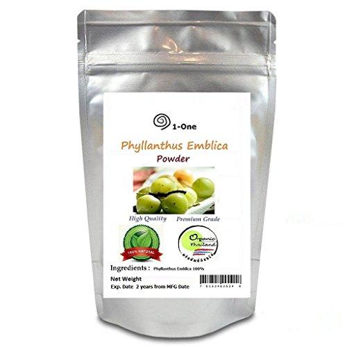 Phyllanthus Emblica Powder Indian Gooseberry emblic myrobalan Herb Organic 1 KG/1,000 g/35.27 oz. by Good done