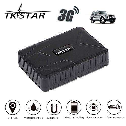TKSTAR GPS Tracker 3g Tracker 24hours Real Time Tracking Anti Theft Tracker Devices with Strong Magnetic, Recording…