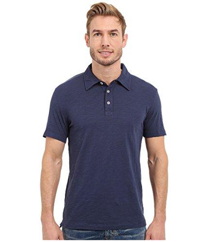 Mod-O-Doc Men's Vintage Fit Short Sleeve Zuma Slub Jersey Polo Shirt, New Navy, X-Large - Jersey Vintage Polo Shirt