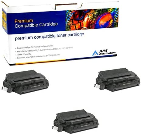 - Generic C4182XX3PK NO. 82XJ 3//PK-32000 Page Yield AIM Compatible Replacement for HP Laserjet 8100//8150 Jumbo Toner Cartridge